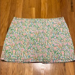 Dresses & Skirts - Euc Lilly Pulitzer skort with lighthouses.